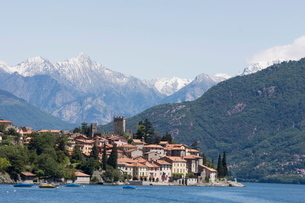 Santa Maria Rezzonico, Lake Como, Lombardyの写真素材 [FYI03778161]