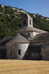 Senanque Abbey, Vaucluseの写真素材 [FYI03778243]