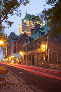 The Old Town, Quebec City, Quebecの写真素材 [FYI03778449]