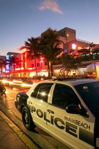 Art Deco District, Ocean Drive, South Beach, Miami Beach, Florida'.の写真素材 [FYI03778714]