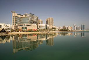 Abu Dhabi, United Arab Emirates, Middle Eastの写真素材 [FYI03778732]