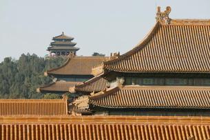 The Forbidden City, Beijing (Peking)の写真素材 [FYI03778816]