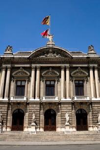 The Grand Theatre, Place de Neuve, Genevaの写真素材 [FYI03779585]