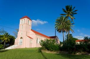 Our Lady of Perpetual Help Catholic Church, Antigua, Leeward Islands, Caribbeanの写真素材 [FYI03779693]