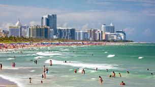 South Beach, Miami Beach, Gold Coast, Miami, Florida'の写真素材 [FYI03779792]