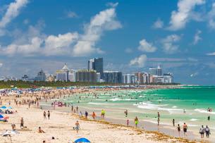 South Beach, Miami Beach, Gold Coast, Miami, Florida'の写真素材 [FYI03779798]