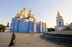 St. Michael's Monastery, Kievraineの写真素材 [FYI03779877]