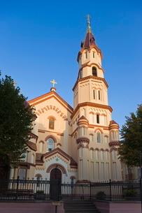 St. Nicholas's Russian Orthodox Church, Vilnius, Lithuaniaの写真素材 [FYI03779887]