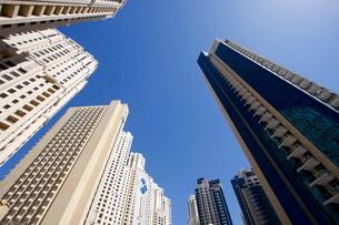 High rise buildings, Dubai, United Arab Emirates, Middle Eastの写真素材 [FYI03779971]