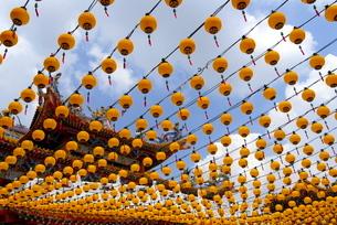 Thean Hou Temple, Kuala Lumpur, Malaysia, Southeast Asiaの写真素材 [FYI03779979]