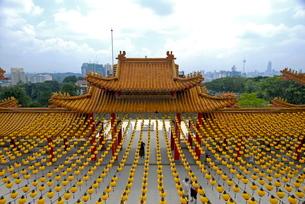 Thean Hou Temple, Kuala Lumpur, Malaysia, Southeast Asiaの写真素材 [FYI03780064]