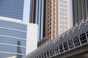 Modern architecture, Dubai, United Arab Emirates, Middle Eastの写真素材 [FYI03780078]