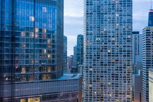 Skyscrapers in Chicago, Illinois'の写真素材 [FYI03780080]