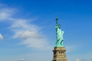 Statue of Liberty, New York City, New York'の写真素材 [FYI03780180]