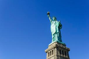 Statue of Liberty, New York City, New York'の写真素材 [FYI03780181]