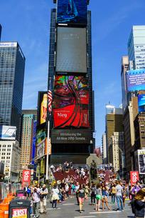 Times Square, Theatre District, Midtown, Manhattan, New York City, New York'の写真素材 [FYI03780184]