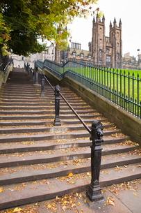 Playfair Steps, Edinburgh, Lothian, Scotlandの写真素材 [FYI03780272]