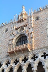 Doge's Palace, St. Mark's Square, Venice, Venetoの写真素材 [FYI03780312]