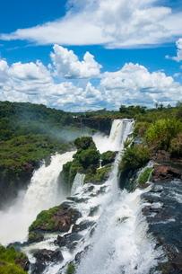 The Iguazu waterfalls, Iguazu National Parkの写真素材 [FYI03780672]