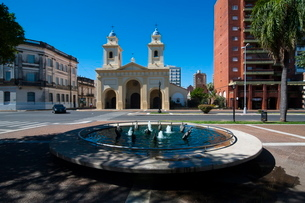 Santa Fe, capital of the province of Santa Feの写真素材 [FYI03780718]