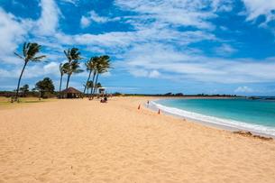 Salt Pond Beach Park, Hanapepe, Kauai, Hawaiiの写真素材 [FYI03780967]