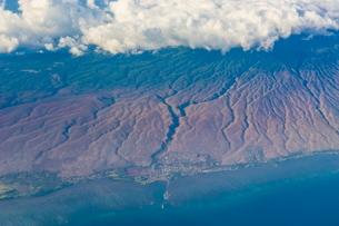 Aerial of Big Island, Hawaiiの写真素材 [FYI03780968]