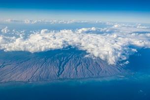 Aerial of Big Island, Hawaiiの写真素材 [FYI03780970]