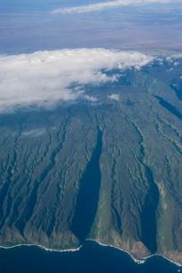 Aerial of Big Island, Hawaiiの写真素材 [FYI03780971]