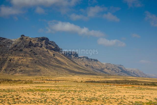 Rocky mountains on the island of Socotra, UNESCO World Heritatge Site, Yemen, Middle Eastの写真素材 [FYI03781311]
