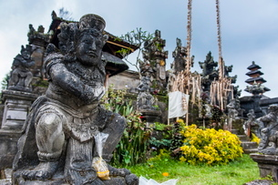 Pura Besakih temple complex, Bali, Indonesia, Southeast Asiaの写真素材 [FYI03781420]