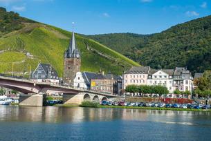 Bernkastel-Kues, Moselle Valley, Rhineland-Palatinateの写真素材 [FYI03781795]