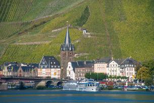 Bernkastel-Kues, Moselle Valley, Rhineland-Palatinateの写真素材 [FYI03781796]