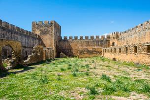Fortress Frangokastello, Crete, Greek Islandsの写真素材 [FYI03781972]