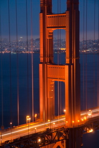 Golden Gate Bridge, San Franciscoの写真素材 [FYI03782151]