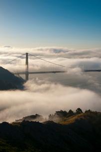 Golden Gate Bridge, San Franciscoの写真素材 [FYI03782153]