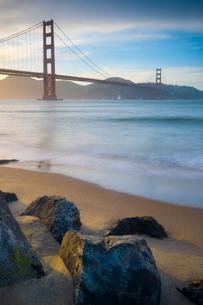 Golden Gate Bridge, San Franciscoの写真素材 [FYI03782156]