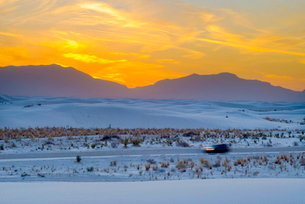 White Sands National Monument, New Mexico'の写真素材 [FYI03782173]