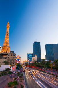 Paris Las Vegas Hotel and Casino, The Strip, Las Vegas, Nevada'の写真素材 [FYI03782219]