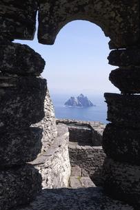 Celtic Monastery, Skellig Michael, County Kerry, Munsterの写真素材 [FYI03782440]