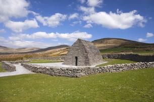 Gallarus Oratory, Dingle Peninsula, County Kerry, Munsterの写真素材 [FYI03782443]