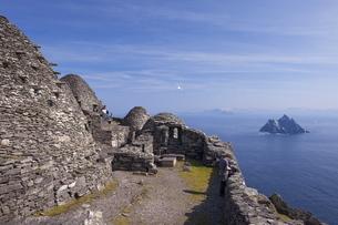 Celtic Monastery, Skellig Michael, County Kerry, Munsterの写真素材 [FYI03782444]