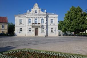 Biblioteka Publiczna Wojewodzka i Miejska (Public Library), Rzeszow, Polandの写真素材 [FYI03782516]