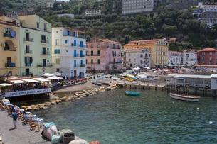 Marina Grande, Sorrento, Costiera Amalfitana (Amalfi Coast), Campaniaの写真素材 [FYI03782839]