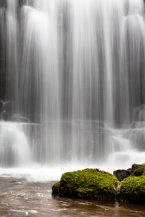 Scaleber Force (Foss Waterfall) near Settle, North Yorkshire, Yorkshireの写真素材 [FYI03782949]
