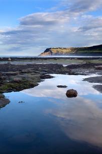 Ravenscar from Robin Hoods Bay, Yorkshireの写真素材 [FYI03782998]