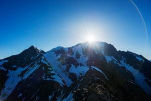 Mont Blanc, 4810m, Chamonix, Rhone Alpes, Haute Savoie, France, Europeの写真素材 [FYI03783340]