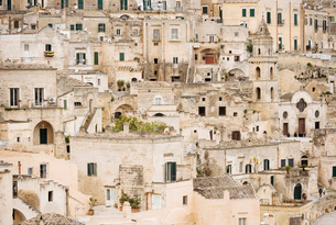 Sasso Barisano, Matera, Basilicata, Italy, Europeの写真素材 [FYI03783714]