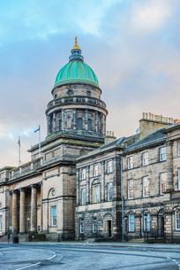 National Records of Scotland building, Edinburgh, Scotland, United Kingdom, Europeの写真素材 [FYI03783737]