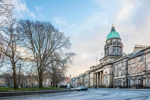 National Records of Scotland building, Edinburgh, Scotland, United Kingdom, Europeの写真素材 [FYI03783741]