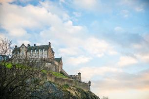 Edinburgh Castle, UNESCO World Heritage Site, Edinburgh, Scotland, United Kingdom, Europeの写真素材 [FYI03783743]